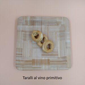 Taralli nonno 300gr con vino primitivo